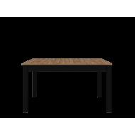 Обеденный стол LOFT STO, Дуб Вотан/Черный