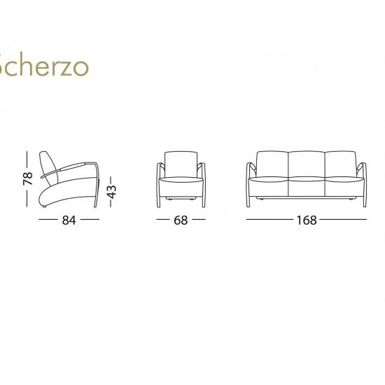 Диван KLER Scherzo I021