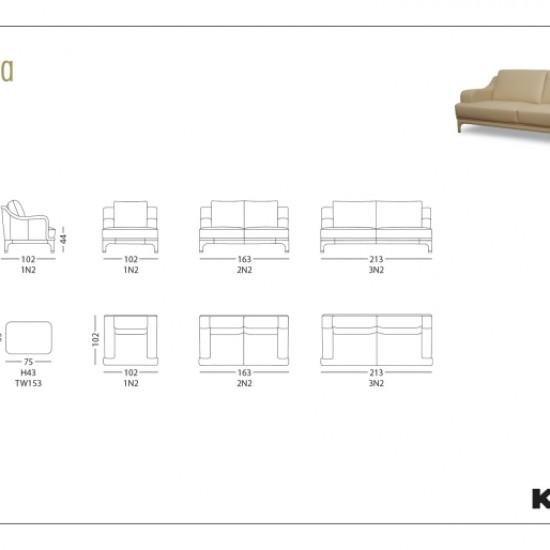 Кресло KLER Traviata W153