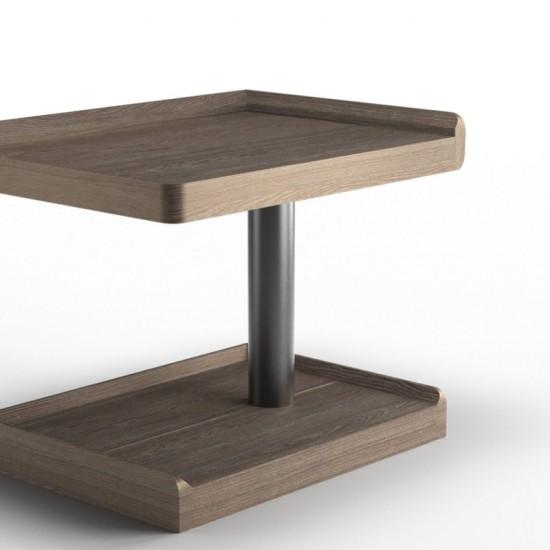 Ламповый прикроватный столик М9280 правый