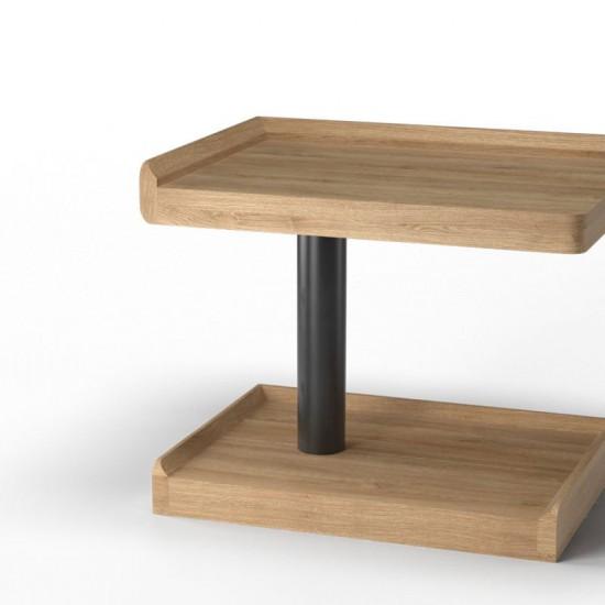 Ламповый прикроватный столик М9290 левый