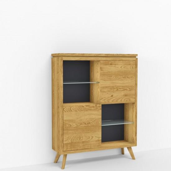 Книжный шкаф с подсветкой М0800