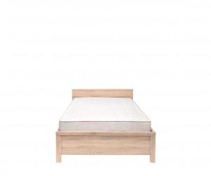 Кровать Kaspian с гибким основанием LOZ 90х200, дуб сонома