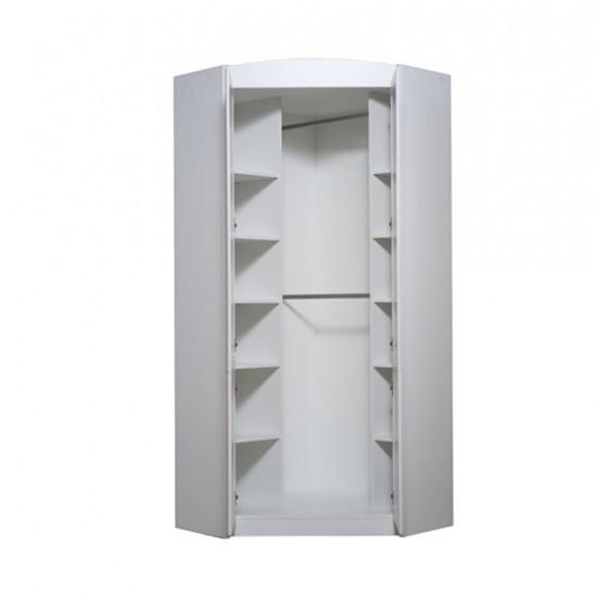 Шкаф угловой Salerno, SZFN2D, белый