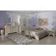 Кровать двуспальная Kentaki, loz/160, белый с основанием