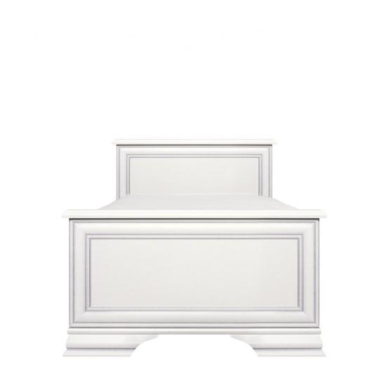 Кровать односпальная Kentaki с основанием, loz/90, белый