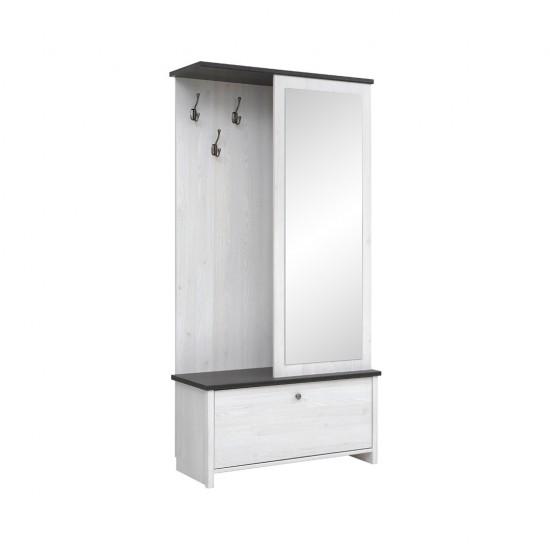Шкаф с вешалкой Порто PPK/95 (сосна ларико/джанни)