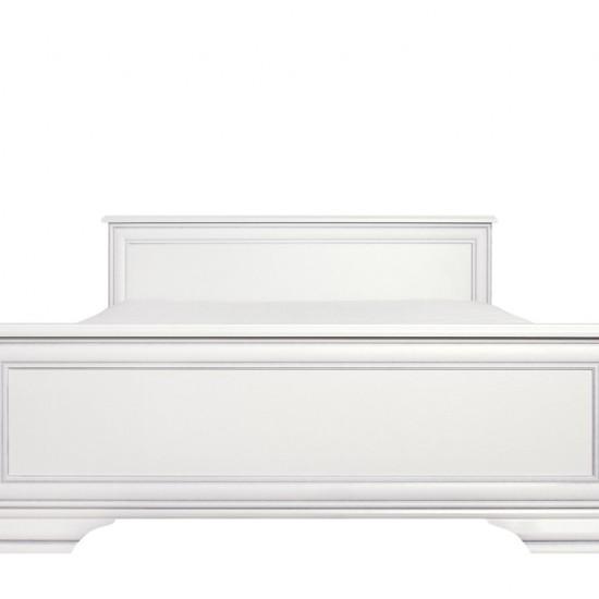 Кровать Kentaki, loz/140, белый с основанием