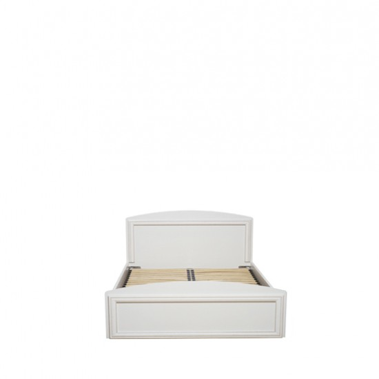 Кровать Salerno с основанием, LOZ/120, белый