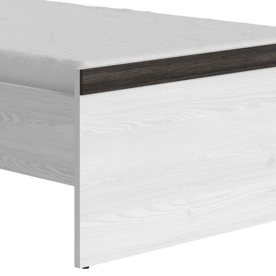 Кровать односпальная Порто LOZ/90 с гибким основанием (сосна ларико/джанни)