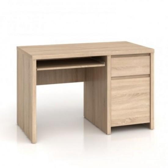 Стол письменный Kaspian, BIU1D1S 120, дуб сонома