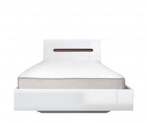 Кровать Azteca с гибким основанием, loz90х200, белый блеск