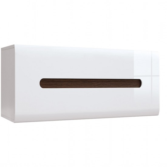 Шкаф настенный Azteca, s205-sfw1k/4/11, белый блеск