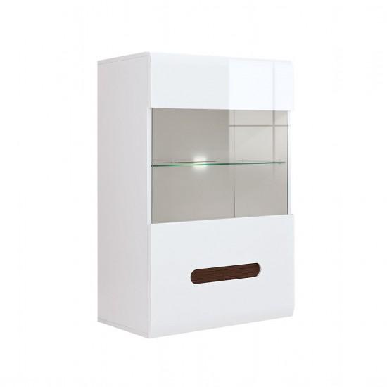 Шкаф настенный Azteca, s205-sfw1w/10/6, белый блеск
