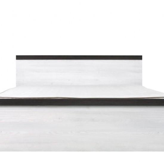 Кровать двуспальная Порто LOZ/160 с гибким основанием (сосна ларико/джанни)