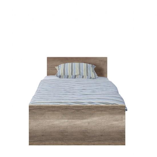 Кровать Malcolm LOZ 90 дуб каньон монумент  с гибким основанием