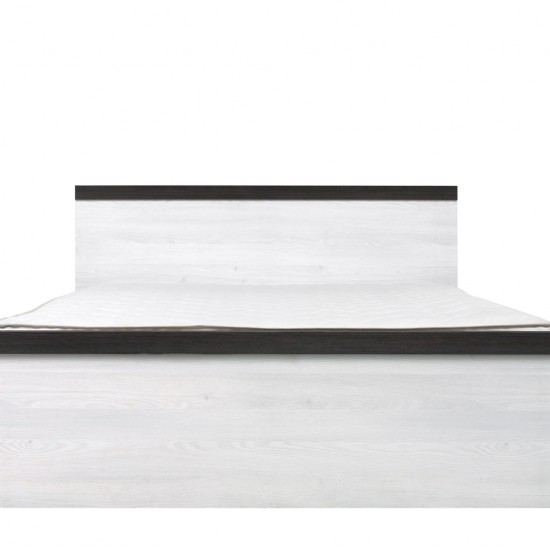 Кровать двуспальная Порто LOZ/140 с гибким основанием (сосна ларико/джанни)
