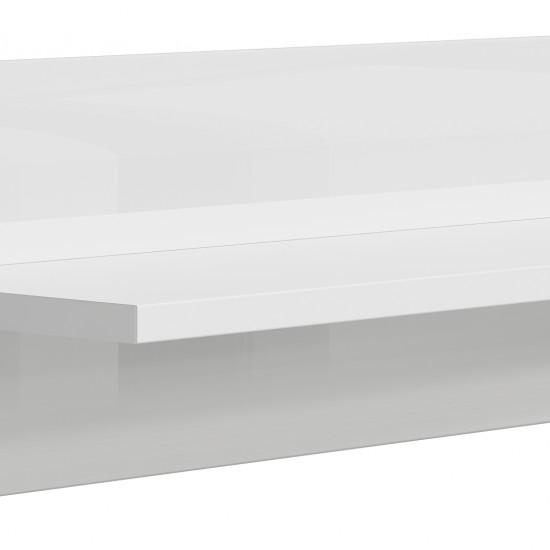 Полка Azteca, s205-p/2/11, белый блеск