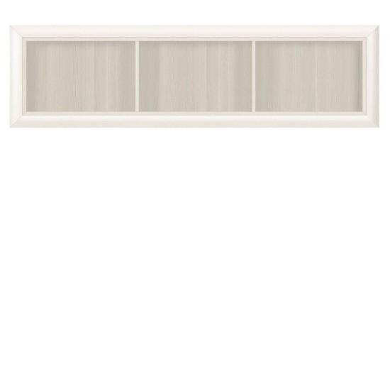 Полка-витрина Koen, SFW1W/148, ясень снежный