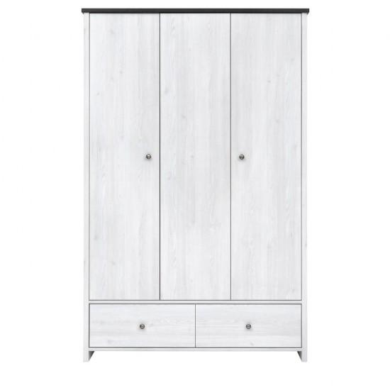 Шкаф платяной Порто SZF3D2S (сосна ларико/джанни)