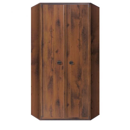 Шкаф угловой Indiana  JSZFN 2d, дуб саттер