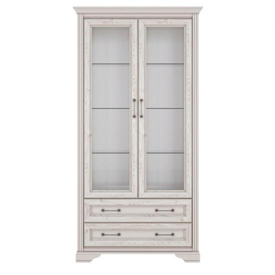 Шкаф-витрина Stylius REG2W2S, лиственица сибирская