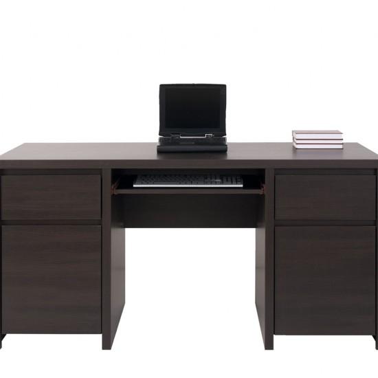 Стол письменный Kaspian, BIU2D2S, венге
