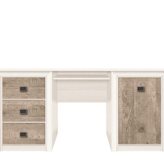 Стол письменный Koen, BIU 170, ясень снежный/сосна натуральная