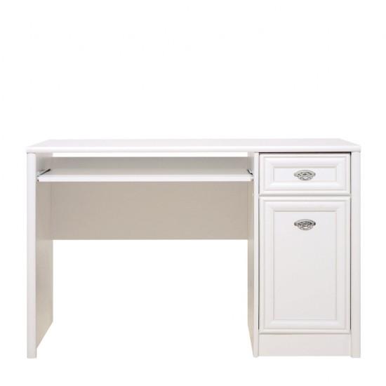Стол письменный Salerno, BIU1D1S, белый