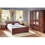 Кровать двуспальная Stylius с гибким основанием nloz 160,черешня античная