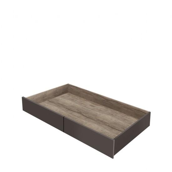 Тумба для постельных принадлежностей SZU дуб каньйон монумент/серый вольфрам