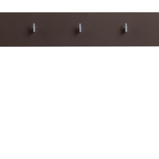 Вешалка Homeline, PAN/2/11II, темно-коричневый  блеск