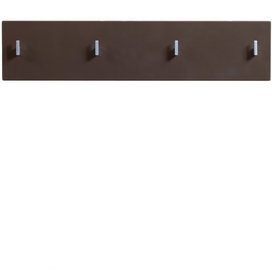 Вешалка Homeline, PAN/2/8II, темно-коричневый  блеск