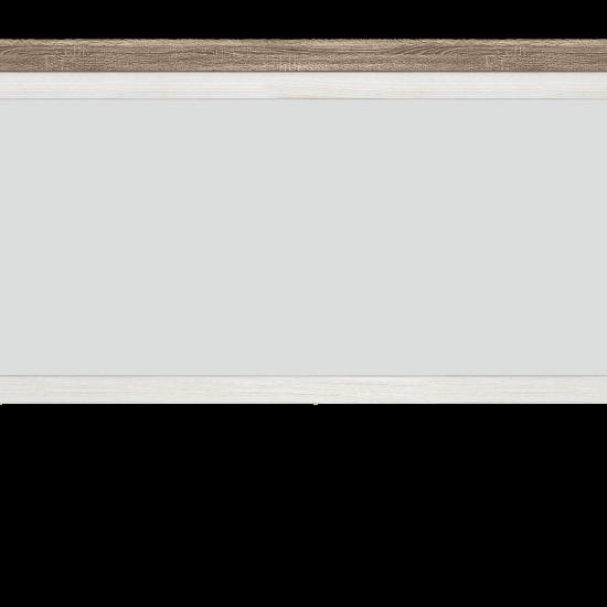 Зеркало Marselle LUS/165 ясень снежный / дуб сонома темный